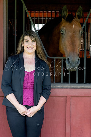 Marcie's Headshot Equine Photo Shoot