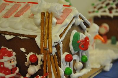2012 - December Church Gingerbread Houses
