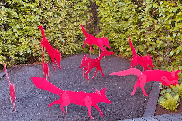 Jardins des renards rouges
