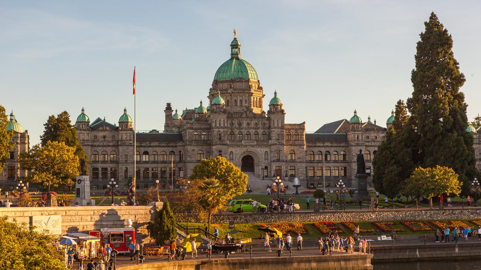 加拿大维多利亚,漂亮的海港城市