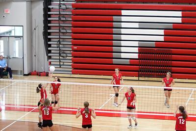 Girls Freshman Volleyball - 9/25/2012 Spring Lake