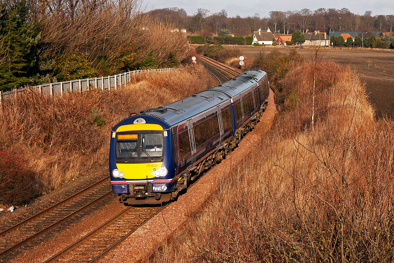 170459 forms a class 2 working, 2K56 1219 Markinch to Edinburgh.