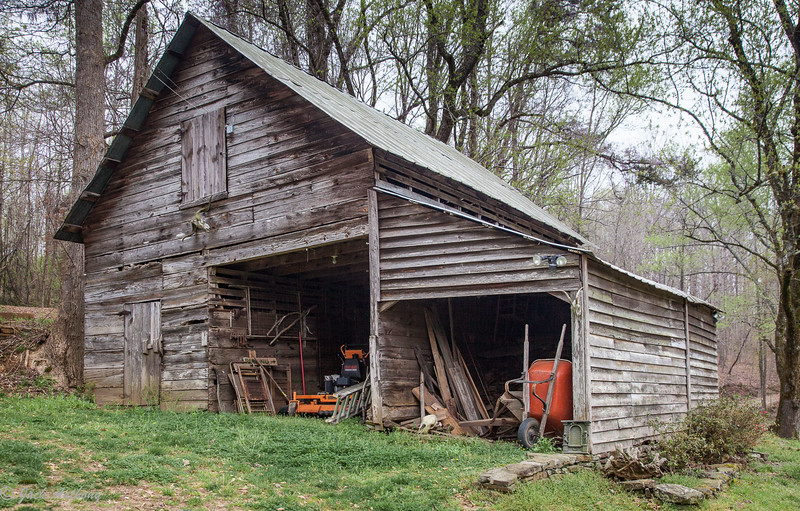 Barn at Ragsdale Mill - Mt. Olivet Rd., Homer, Ga.