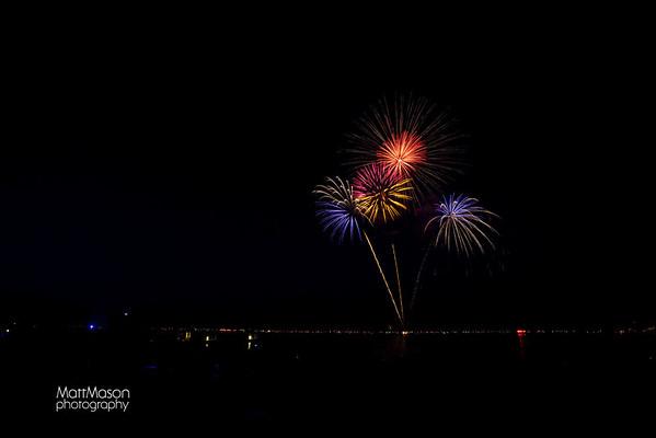Fontana Fireworks 2011