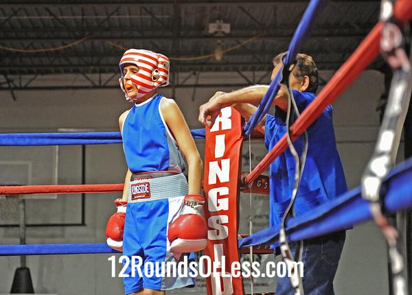 Edward Colon (Freddies) vs Elliot Davis (SABA)  100 Pound Division   [Bout 10]