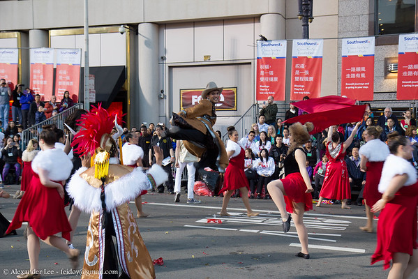 Chinese New Year Parade 2015 Year of the Ram