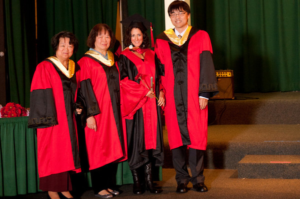 Graduation - Santa Cruz 2010 - Diplomas