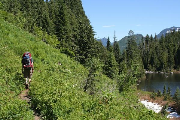Camping by Greider Lakes