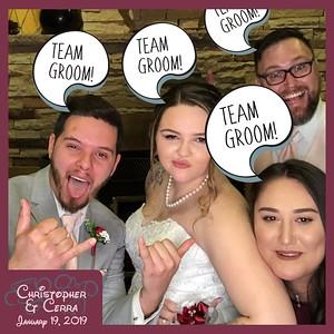 1 19 2019 Christopher and Cerra Wedding photos