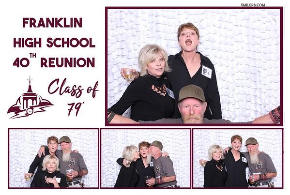 Franklin High School 40th Reunion