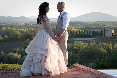 Nikki and Ady's Tuscany Wedding