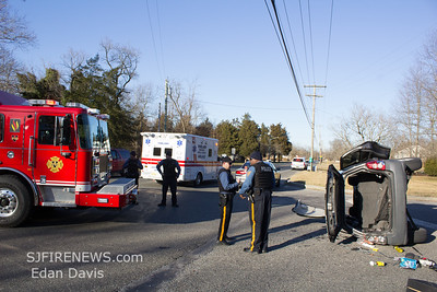02/09/2019, MVC with Entrapment, Vineland City, Cumberland County NJ, N Lincoln Ave. and Maple Ave.