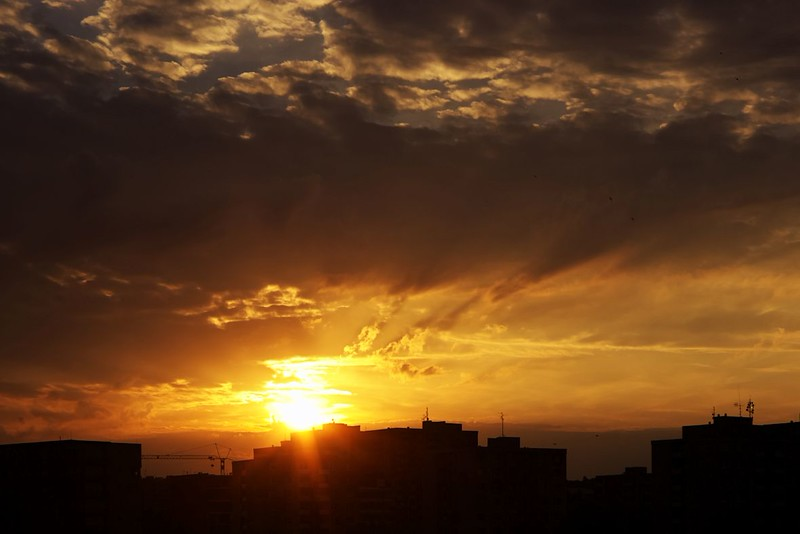 Západ slunce 30.6.2015