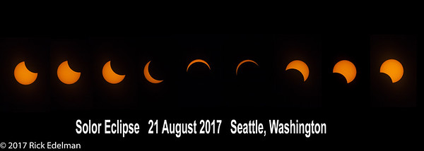 Solar Eclipse - Seattle 8-21-2017