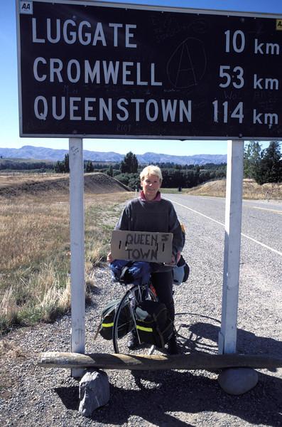 1989 - 3 Mt.  per Velo durch Neuseeland