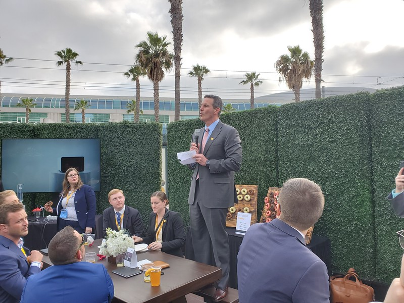 3 - Jim Marucci addresses the crowd at the Sonopet iQ launch.jpg