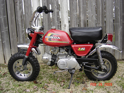 1974 Honda z50a Monkey Bike