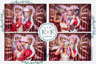 R+R -photobooth fun at Lyde Court Hereford