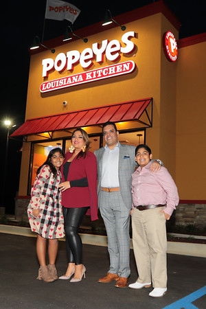 Popeyes Grand Opening Party 2018