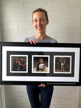 First Birthday Photos - The Trio Frame