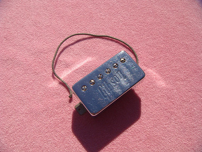Gibson embossed Chrome cover late 60's early 70's