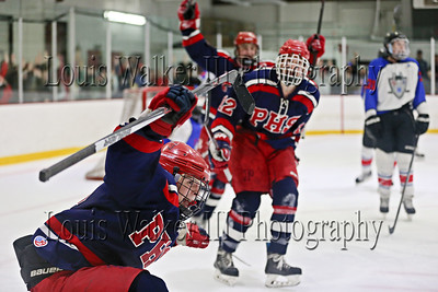 Hockey Playoffs Game 3 RMR at Portsmouth on 3/21/16