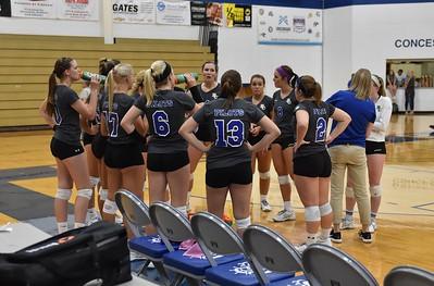 Bethel College Volleyball - 2018 vs Taylor University