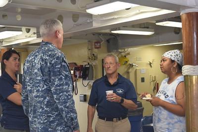 USS Missouri BB -63 MoJo  8-2-2018 Capt T Halladay