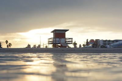 Cocoa Beach Pier Tropical Storm Henri 8-20-21