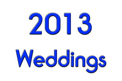 WEDDINGS 2013