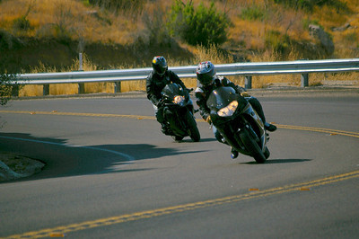 8/30/09 Mt Laguna Run with San Diego Sport Bikers