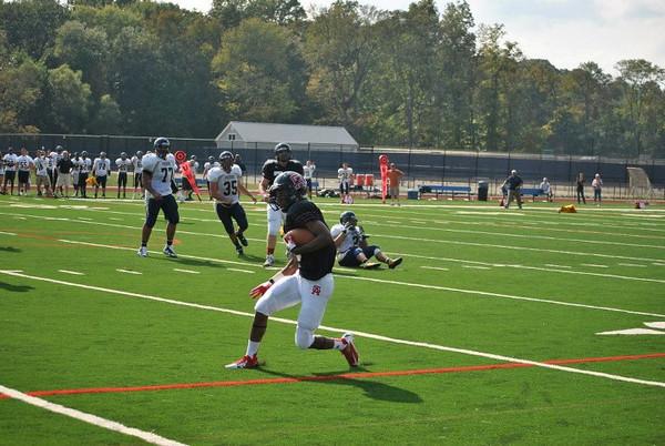 Football: GA vs Peddie School