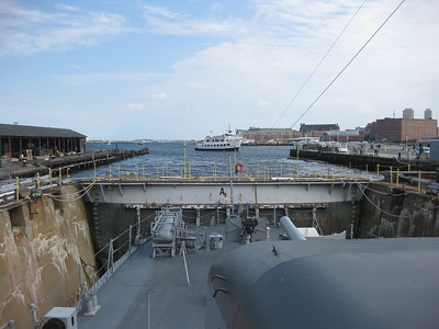 August 10 2010 CY Enters Dock