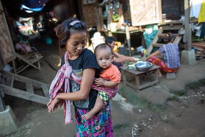 Kachin IDP camp