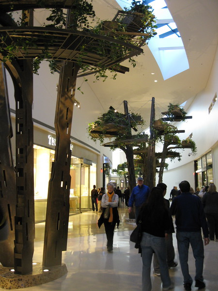 Inside the new Crystals mall at CityCenter.