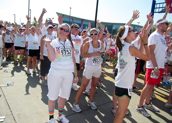The Color Run, Omaha, July 14, 2012
