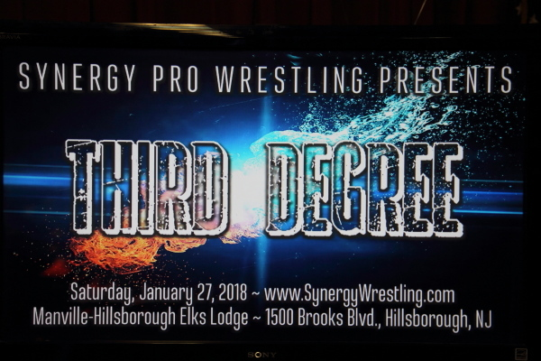 2018-01-27: SYNERGY: Third Degree @ Manville, NJ