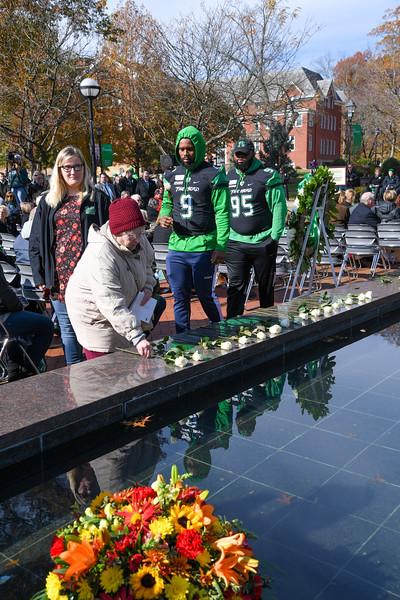 11.14.19 - Memorial Fountain Ceremony