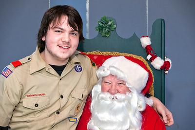 2012-12-02 K of C + Santa