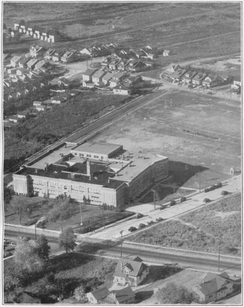Union High School (now Burnet)  in 1932.