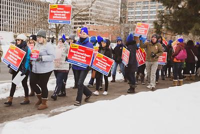 SHMC Nurses Rally 2019-02-25