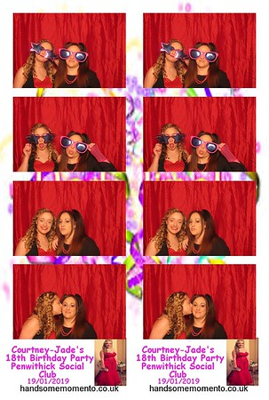 Courtney-Jade's 18th Birthday Party Penwithick Social Club 19-01-19