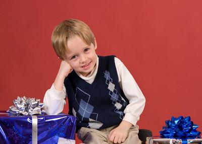 Jacob Christmas Pics