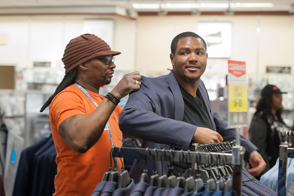 "2/23/20 ""Suit Up"" Event at JC Penney"