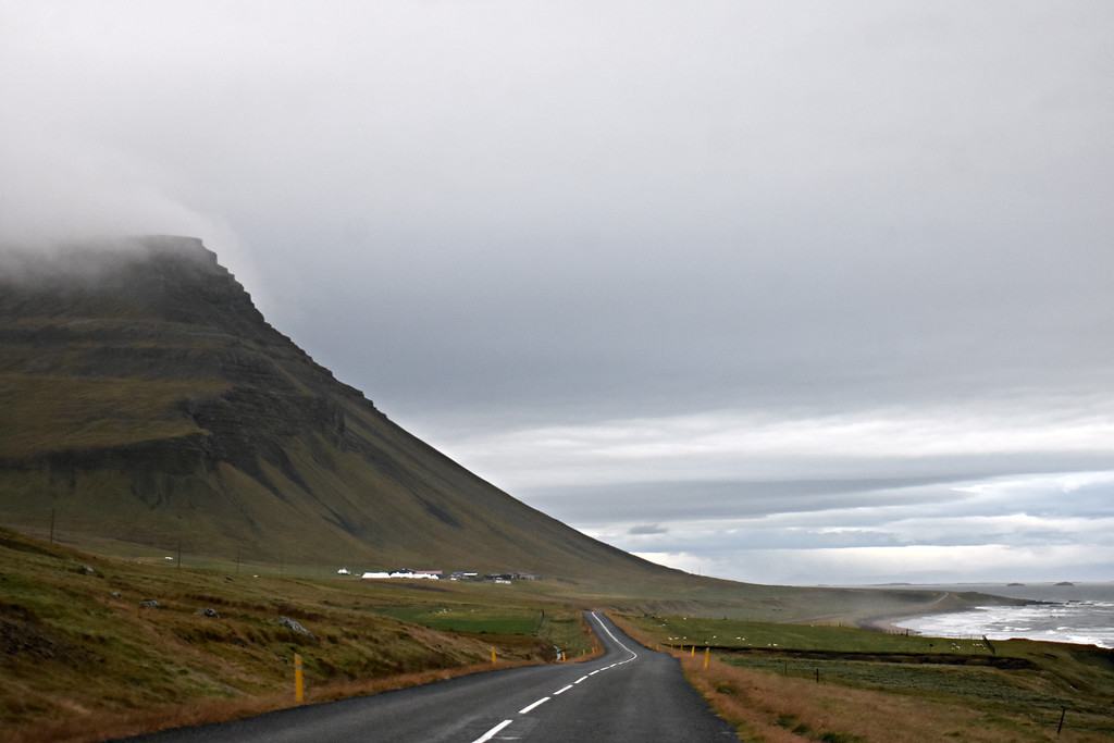 Route 62 in the Westfjords Iceland