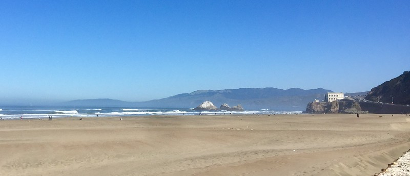 Ocean Beach on a fine day