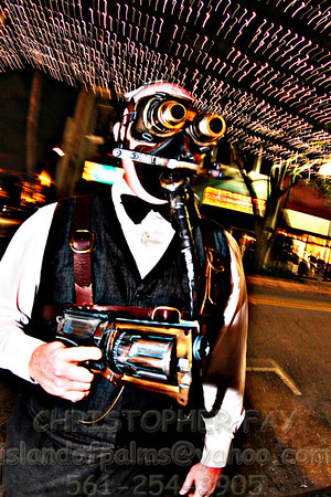 Steampunk at The Lounge, WPB, Jan 19, 2011