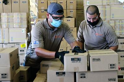 07142020 Operation SOS school supply sort
