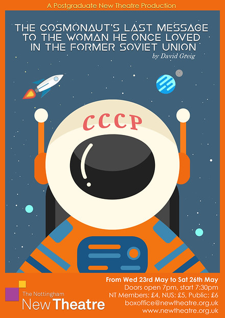 The Cosmonaut's Last Message to the Woman He Once Loved in the Former Soviet Union poster