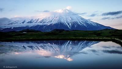 Mt Tolbachik - dusk